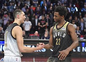 """NBA """"Kylančių žvaigždžių"""" rungtynės"""