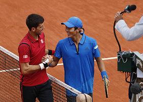 """""""Roland Garros"""" pirmasis etapas: Novakas Džokovičius prieš Yen-Hsun Lu"""