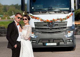 Išskirtinės Aušros ir Šarūno Domašių vestuvės