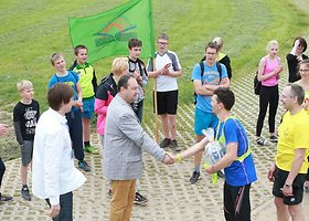 Bėgimas per Lietuvos mokyklas: 14 diena