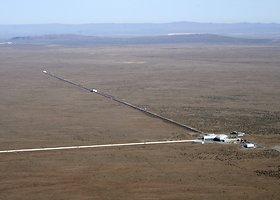 Gravitacinių bangų paieškai sukurta LIGO observatorija