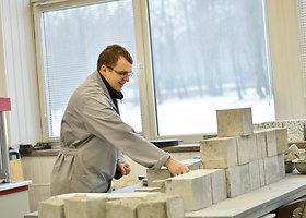 KTU mokslininkų kurtas ypač tvirtas betonas