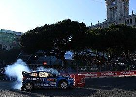 WRC ralio etapas Portugalijoje