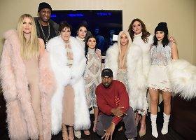 """Kanye Westo kolekcijos """"Yeezy Season 3"""" šou Niujorko mados savaitėje"""