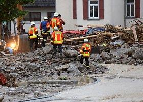 Potvynis Vokietijos pietvakariuose