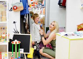 Natalija Bunkė ruošiasi didelei šventei – papildė savo ir sūnaus rūbų spintas
