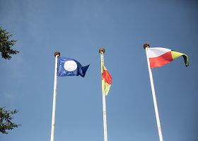 Jūrinės vėliavos Vilniuje