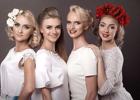 """Ansamblio """"Nemunas"""" šokėjos tautinius drabužius iškeitė į vestuvines sukneles"""