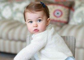 Pirmąjį gimtadienį švenčianti princesė Charlotte