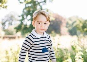 Princo George'o gimtadienio proga karališkieji rūmai išplatino naujas jo nuotraukas