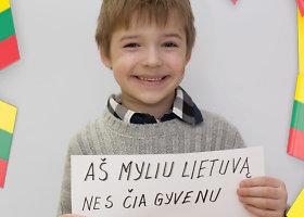 Šiaulių darželio auklėtiniai Vasario 16-ąją prisipažino, kodėl myli Lietuvą