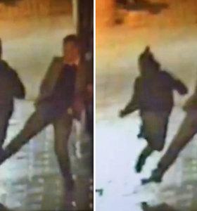 Kingstono policija dėkoja civiliui, pakišusiam koją sprunkančiam įtariamajam