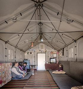 """""""Ikea"""" sukūrė būstus pabėgėlių stovykloms"""