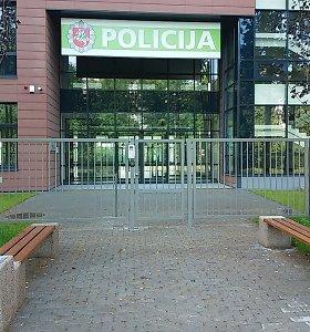 Įkurtuvių laukiančiame naujame Klaipėdos policijos komisariate įrengta belangė ir nepilnamečiams