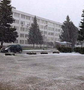 Penktadienį Lietuvoje snigo