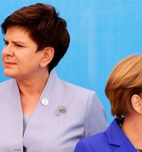 Lenkijos premjerė reikalauja Vokietijos pasiaiškinimo: kas rengia išpuolius?