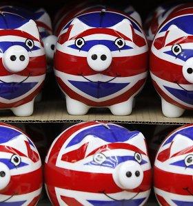 Nedarbas Didžiojoje Britanijoje smuko žemiau 5 proc. kartelės