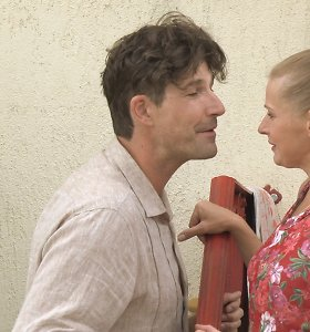 """""""Namai, kur širdis"""" aktorius Jurgis Damaševičius: """"Vaidinti kartu su žmona yra beprotiškai sunku"""""""