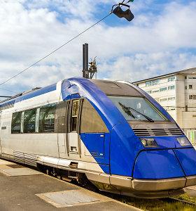"""""""Bombardier"""" lokomotyvus gamins Ukrainoje"""