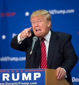 Donaldas Trumpas dėl Rugsėjo 11-osios teroro aktų kaltu laiko George'ą W.Bushą