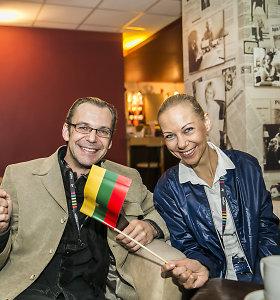 """""""Eurovizija"""" suvienijo žinomus žmones: kokią vietą jie prognozavo Vaidui ir Monikai?"""
