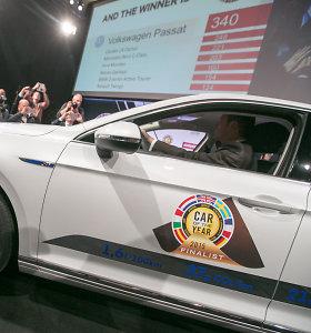 "Europos metų automobilis 2015 – ""Volkswagen Passat"""