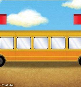 Ar išspręsite geltonojo autobuso galvosūkį greičiau, nei vaikai?