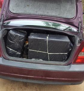 Kontrabandą gabenę vilniečiai atsidūrė už grotų ir prarado automobilius