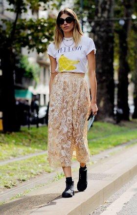 Ilgas sijonas – nenuobodžiai: 9 pasiūlymai