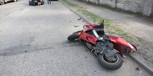 Vilniuje įvyksta trečdalis visų motorolerių sukeltų avarijų šalyje