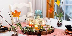 5 patarimai rudeniškai šeimos vakarienei