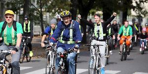Kaune surengtas devintasis dviračių paradas