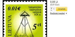 Lietuvos pašto abrakadabra: kaip 5 lito centai pavirsta 1 euro centu