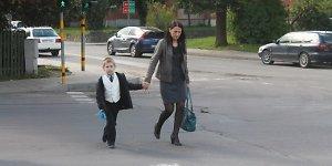 Rugsėjo 1-ąją prie mokyklų – atidumo pamokos vairuotojams