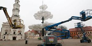 Aiškėja, kaip atrodys pagrindinė Kauno miesto eglė