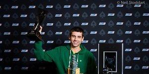 Europos pokerio čempionu tituluotas oponentus finale triuškinęs Stephenas Graneris