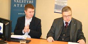 Vitas Vasiliauskas: bankinius reikalus reikia susitvarkyti iki gruodžio 31 d. 12 val.