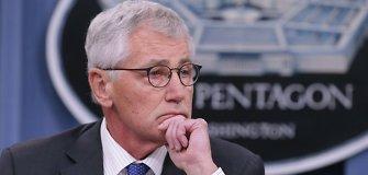 Kodėl Pentagono vadovas Chuckas Hagelis buvo priverstas trauktis?
