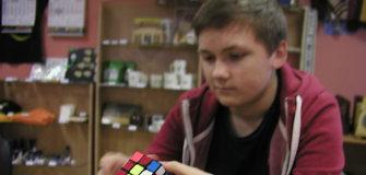 16-metis lazdijiškis Tomas Jankauskas iš Rubiko kubo turnyro grįžo su 8 medaliais