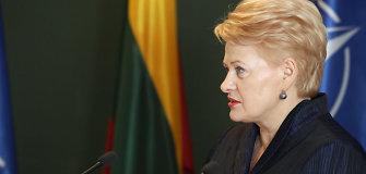 """Dalia Grybauskaitė: """"Turime likti būdrūs ir pasirengę atsakyti į geopolitinius iššūkius"""""""