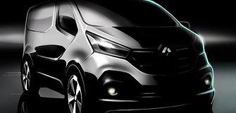 """Artėjančią vasarą """"Renault"""" pristatys naujos kartos """"Trafic"""""""