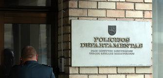 """Per gaisrą Policijos departamento kavinėje sužalotas rinktinės """"Vytis"""" pareigūnas"""