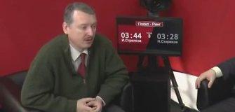 Igoris Girkinas (Strelkovas): turėjom ginklu priversti balsuoti dėl Krymo atsiskyrimo