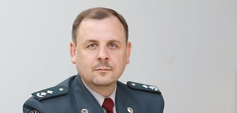 Šalčininkų policijos vadovas Sigitas Urbonas sulaikė neblaivų vairuotoją