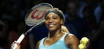 Serena Williams užsitikrino pirmąją poziciją galutiniame WTA sezono reitinge
