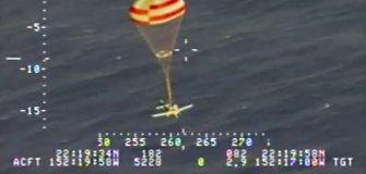 Dramatiška vaizdo medžiaga: kaip pasibaigus degalams lėktuvas nusileidžia vandenyne