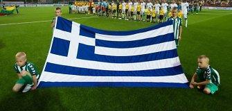 Graikija dėl sirgaliaus mirties savaitgalį stabdo sportinį gyvenimą