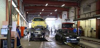 Didėja automobilių techninės apžiūros kaina