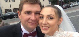 LNK žurnalistas Tomas Dapkus vedė ukrainietę Natali Semerovą