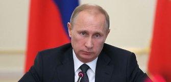 Vladimirui Putinui pataikauja ne vien FIFA: plaukimo federacija jį pagerbė aukščiausiu ordinu